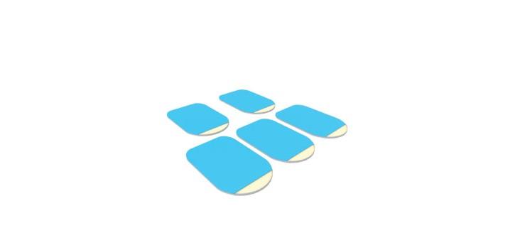 3M DAMAGE-FREE Adhesive Type-B