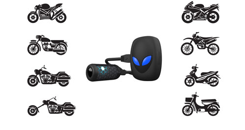 camera systems for motorcycle